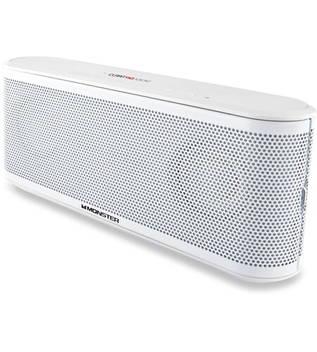 Monster iClarity HD Micro Bluetooth Speaker (White)