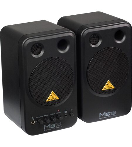 BEHRINGER MS16 | 16W High-Performance, Active Personal Monitor System (Пара.)