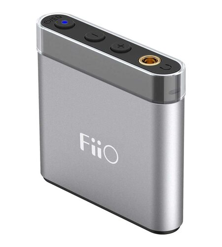 FIIO A1 Headphone Amplifier Silver