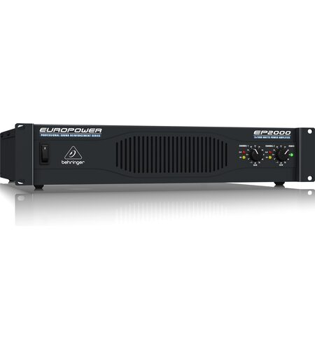 Behringer Europower EP2000 2U Professional 2,000W Stereo Amplifier