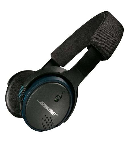 Bose SoundLink black On-Ear Bluetooth Headphones with Microphone