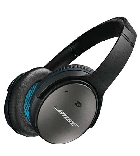 Bose Quiet Comfort 25 black Acoustic Noise Cancelling® headphones — Samsung and Android™ devices