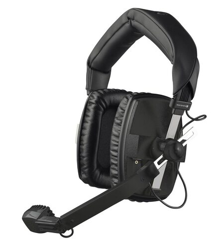 Beyerdynamic DT 109 Headset with Dynamic Hypercardioid Microphone, 200/400 Om