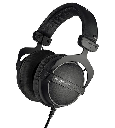 Beyerdynamic DT 770 PRO 250 Om Closed Reference Headphone for Control and Monitoring