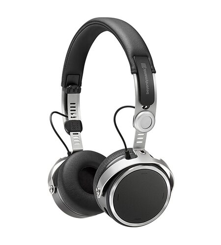 Beyerdynamic Aventho Black On-ear Headphones With Sound Personalization