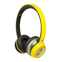 Monster NTune Neon On-Ear, ControlTalk Universal - Neon Yellow