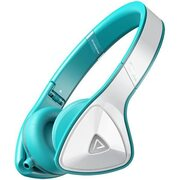 Monster DNA White Over Teal On-Ear Headphones