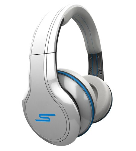 SMS Audio STREET by 50 Wired Over-Ear Headphones - White