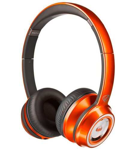 Monster NCredible NTune On-Ear - Candy Tangerine