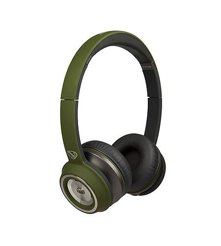 Monster NCredible NTune Matte On-Ear - Matte Green