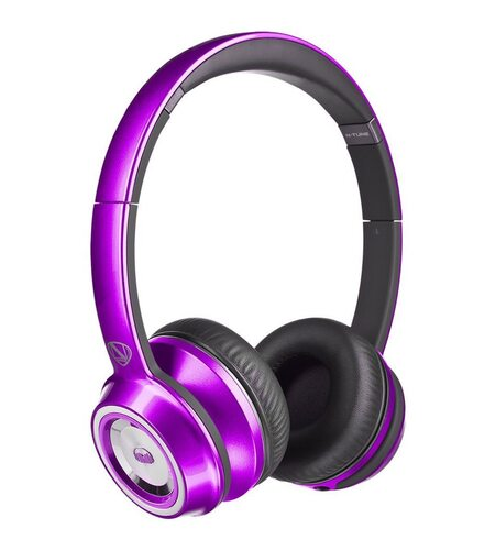 Monster NCredible NTune On-Ear - Candy Purple