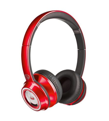 Monster NCredible NTune On-Ear - Candy Red