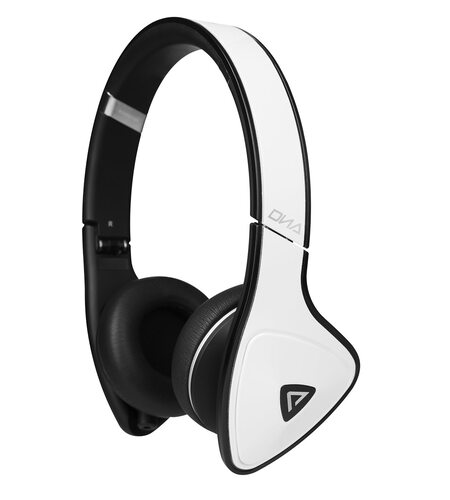 Monster DNA On-Ear Headphones - White Tuxedo
